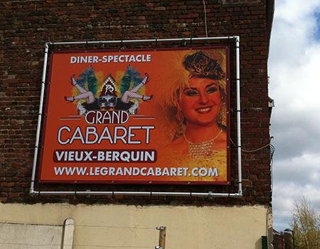 Affichage permanent près de Lille-Courtrai-Tournai (Eurométropole)