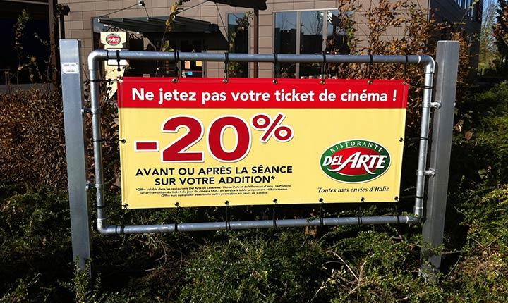 Affichage publicitaire Lille-Courtrai-Tournai (Eurométropole)
